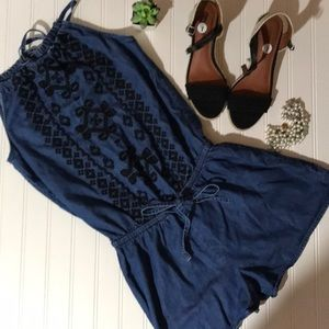 Old Navy Chambray Romper - Small S